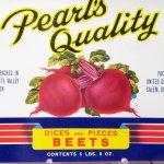 パッケージ&パッケージに味のある雑貨&チーズボックスなど  ラベルシート Beets缶 未使用パッケージ紙