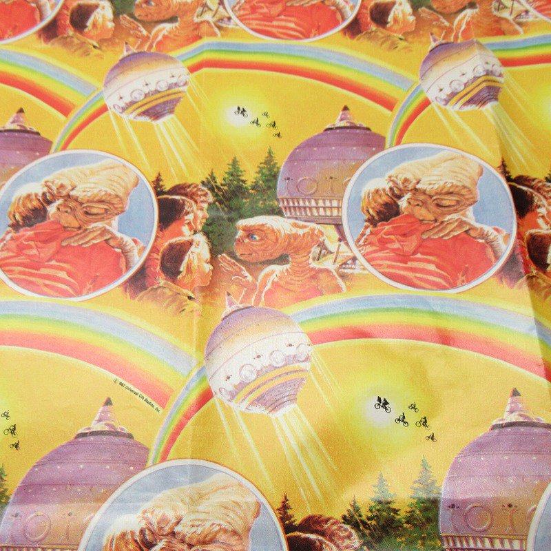 E.T. ラッピングペーパー 1982年 黄色【画像3】