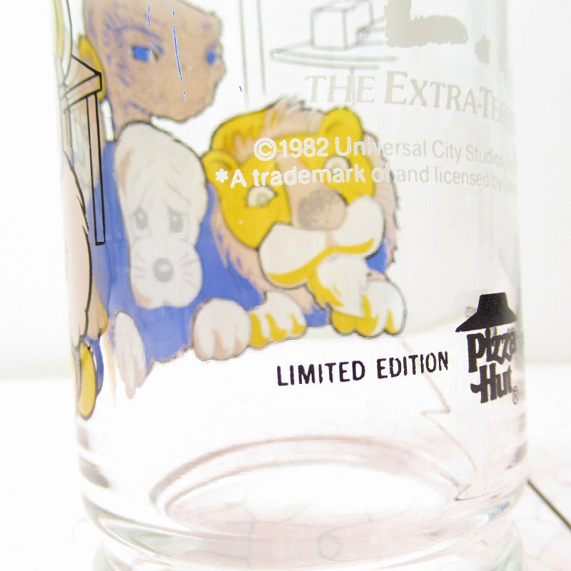 E.T. 1982年 ピザハット販促商品グラス Home【画像11】