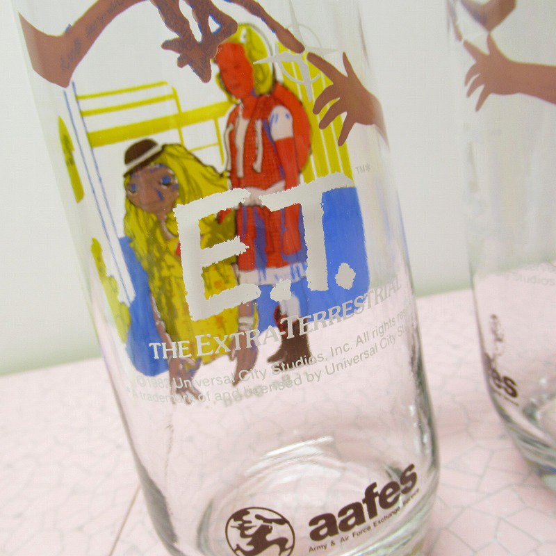 E.T. 1982年 AAFESグラス Be Good【画像8】