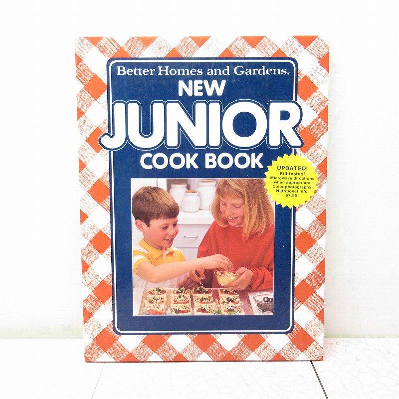 ヴィンテージブック New Junior Cook Book 1989年出版 アウトレット