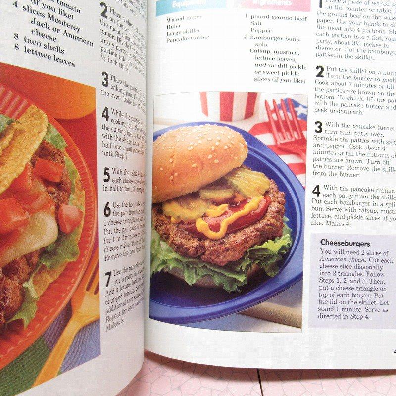 ヴィンテージブック New Junior Cook Book 1989年出版 アウトレット【画像11】
