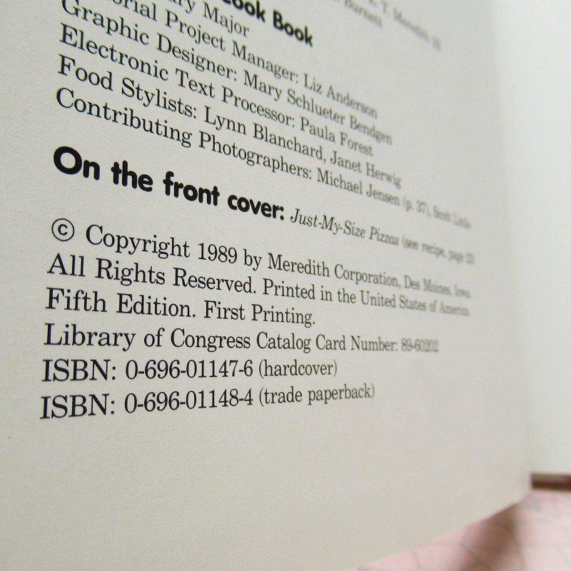 ヴィンテージブック New Junior Cook Book 1989年出版 アウトレット【画像16】