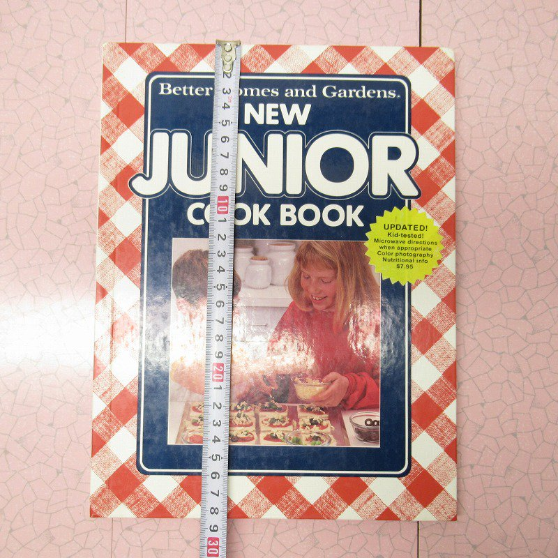 ヴィンテージブック New Junior Cook Book 1989年出版 アウトレット【画像18】