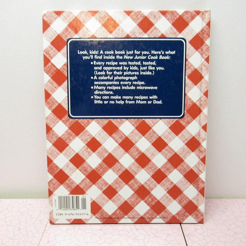 ヴィンテージブック New Junior Cook Book 1989年出版 アウトレット【画像3】