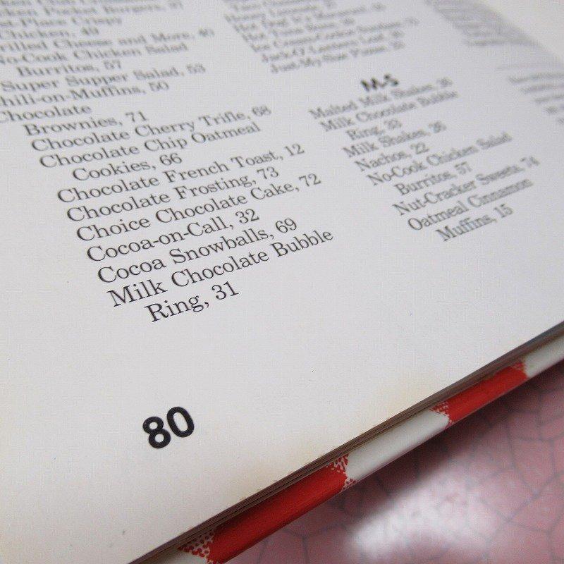 ヴィンテージブック New Junior Cook Book 1989年出版 アウトレット【画像5】