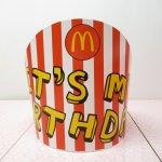 マクドナルド 並行輸入正規品 誕生日パーティー用 王冠