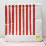 マクドナルド 並行輸入正規品 キャンディストライプ 紙ナプキン10枚セット
