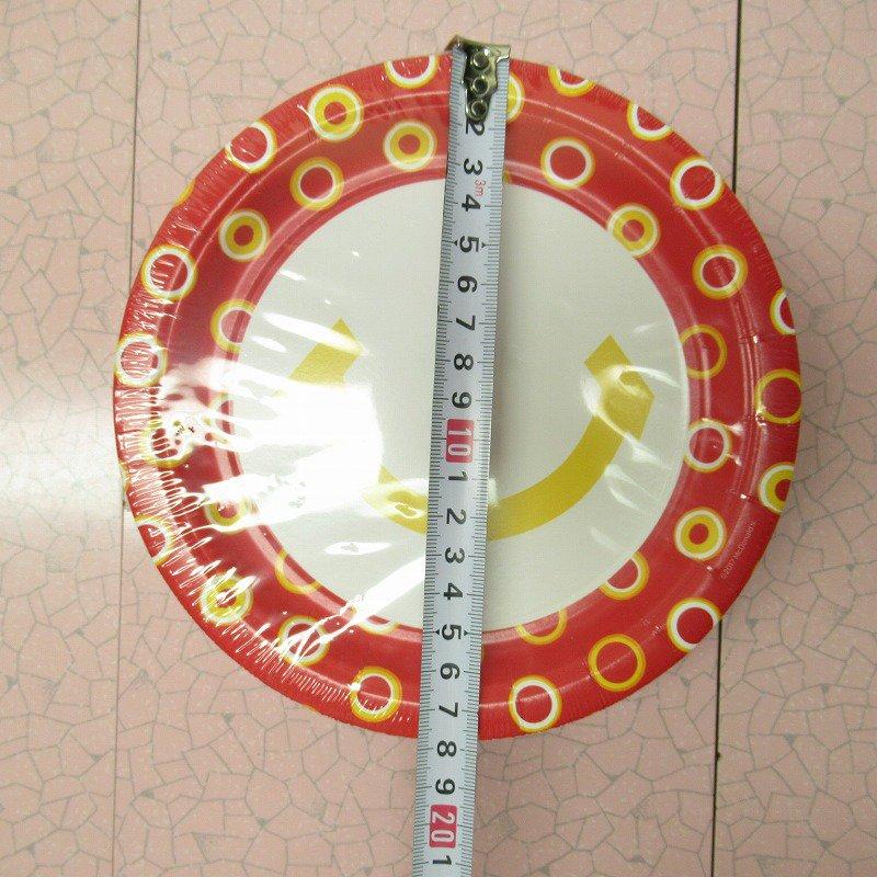 マクドナルド 並行輸入正規品 スマイル 紙皿10枚セット【画像4】