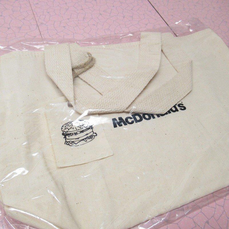 マクドナルド 並行輸入正規品 ミニキャンバストートバッグ