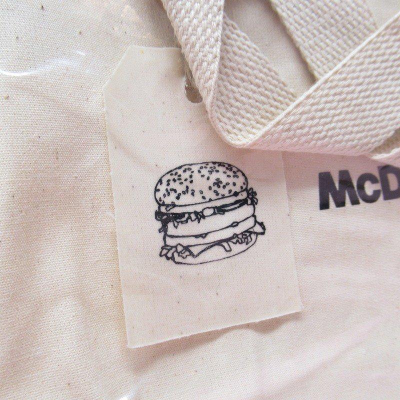マクドナルド 並行輸入正規品 ミニキャンバストートバッグ【画像3】
