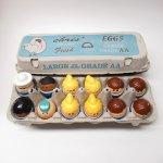 トドルトッツ  トドルトッツ リトルタイクス フィッシャープライス 紙製卵ケース入りお得な12体セット F2