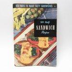 ブックス  レシピブック 500種類のサンドウィッチ 1950年 クッキングブック
