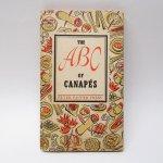 ブックス  レシピブック カナッペ ABC 1953年 クッキングブック