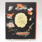 使用済  ヴィンテージ父の日カード For You, Dad, on Father's Day 使用済 1940年~50年代