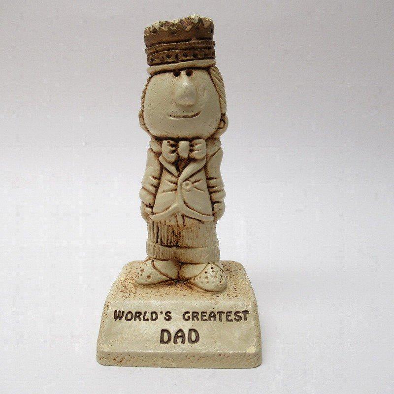メッセージドール 1970年代 World's Greatest Dad
