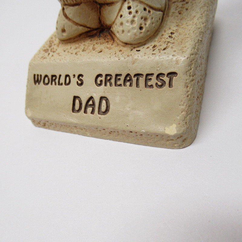 メッセージドール 1970年代 World's Greatest Dad【画像7】