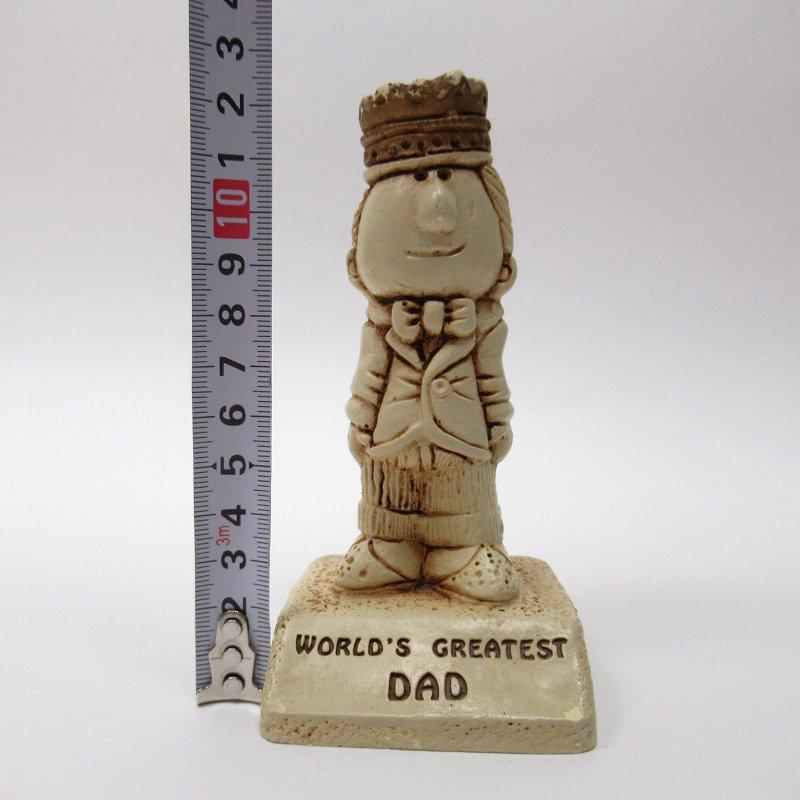 メッセージドール 1970年代 World's Greatest Dad【画像9】
