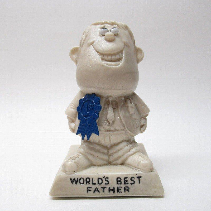 メッセージドール 1970年代 World's Best Father ステッカー付き【画像2】