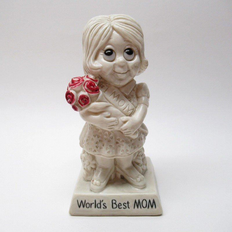 メッセージドール 1970年代 World's Best Mom
