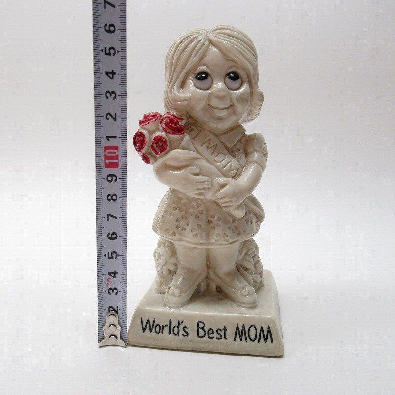 メッセージドール 1970年代 World's Best Mom【画像11】