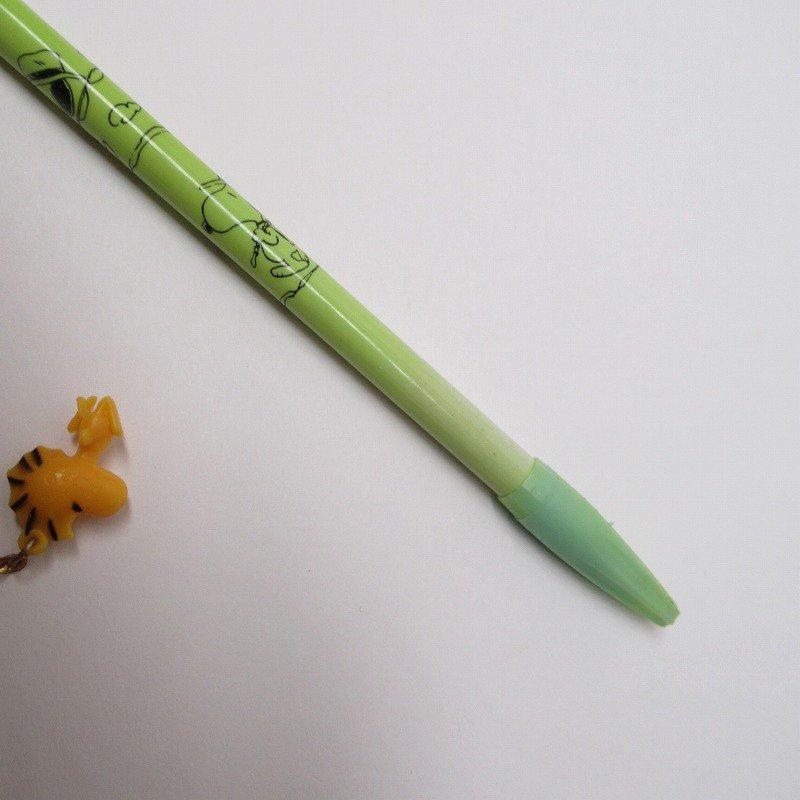 スヌーピー ヴィンテージ PVCマスコット付き ペン 2本セット【画像6】