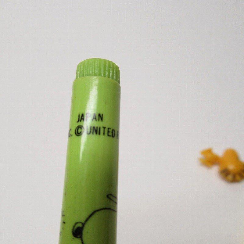 スヌーピー ヴィンテージ PVCマスコット付き ペン 2本セット【画像7】