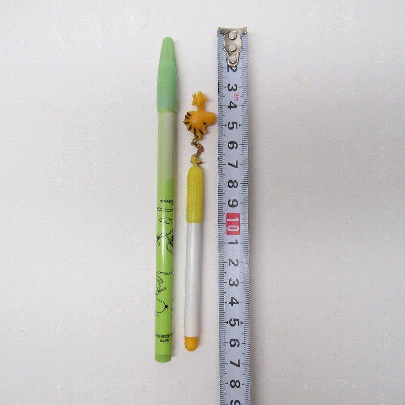 スヌーピー ヴィンテージ PVCマスコット付き ペン 2本セット【画像9】
