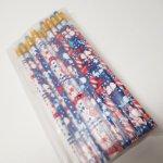 鉛筆・ペン  スヌーピー アメリカ独立記念日バージョン 鉛筆 現行品