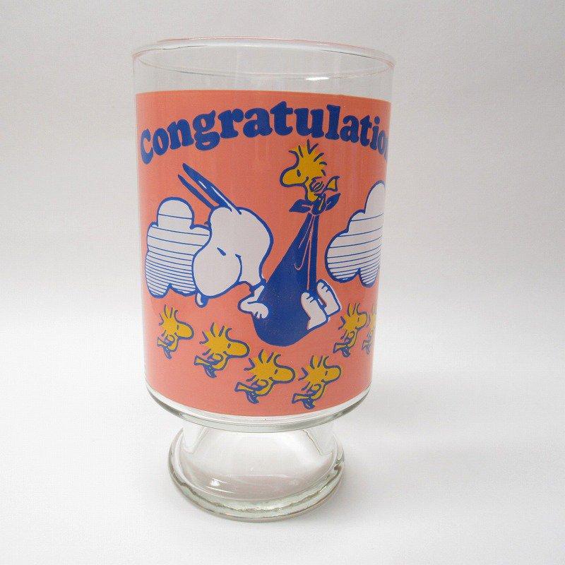 スヌーピー グラス XL Congratulations! C【画像3】