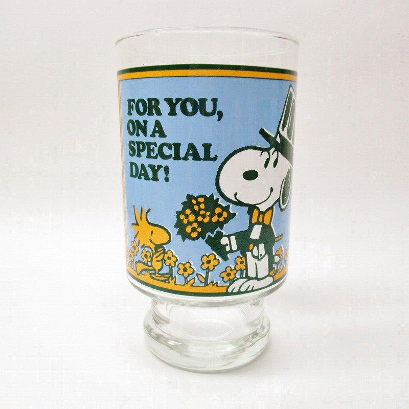 スヌーピー グラス XL For You, On A Special Day! B