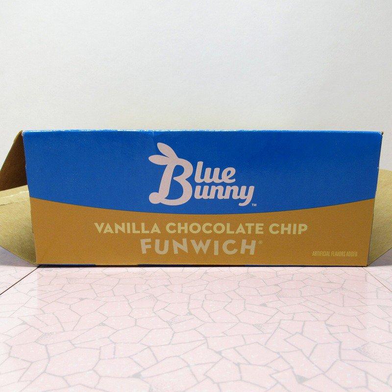 アイスクリーム パッケージ ブルーバニー ファンウィッチ【箱のみ】【画像8】