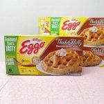 並行輸入品・現行品食品パッケージなど  ケロッグ EGGOワッフル フードボックス シナモンブラウンシュガー6枚入り用