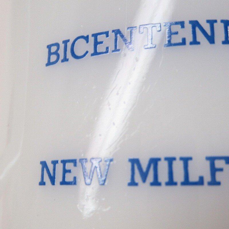 フェデラルグラスマグ 1976年 New Milford 米国200周年記念 B【画像7】