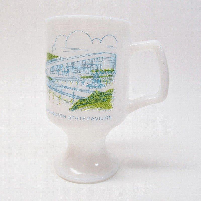 フェデラルグラスマグ Expo' 74 World's Fair オリジナルプライスタグ付き【画像2】