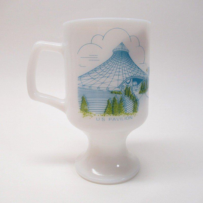 フェデラルグラスマグ Expo' 74 World's Fair オリジナルプライスタグ付き【画像6】