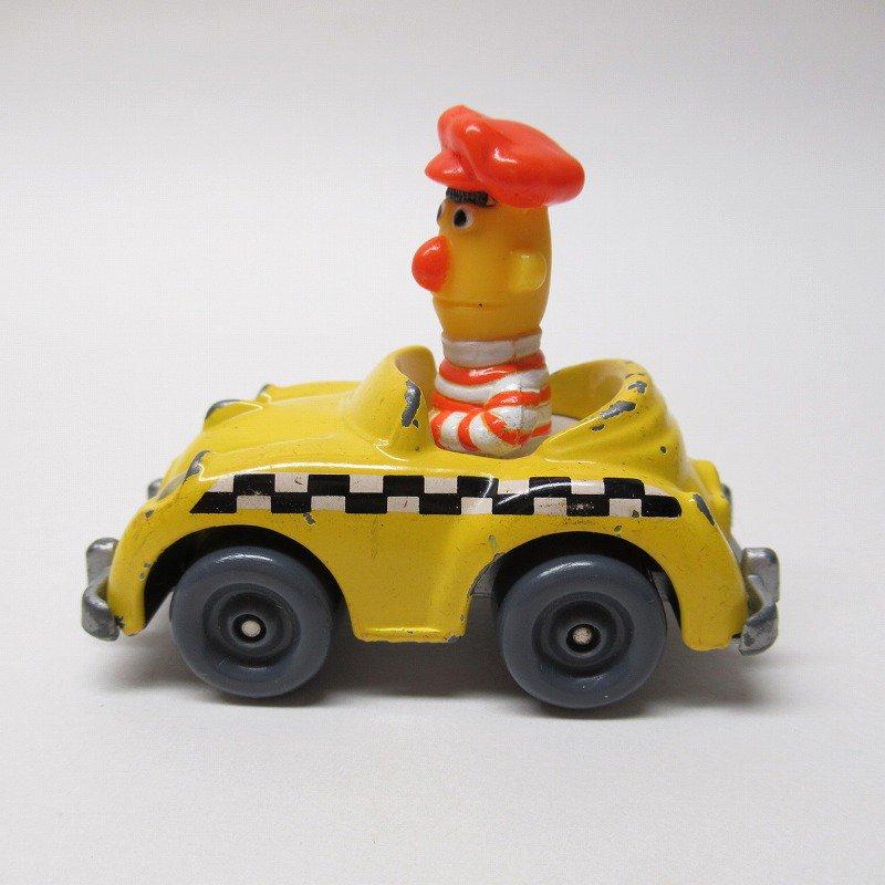 セサミストリート ダイキャスト バート タクシー ミニカー 1980年代【画像2】