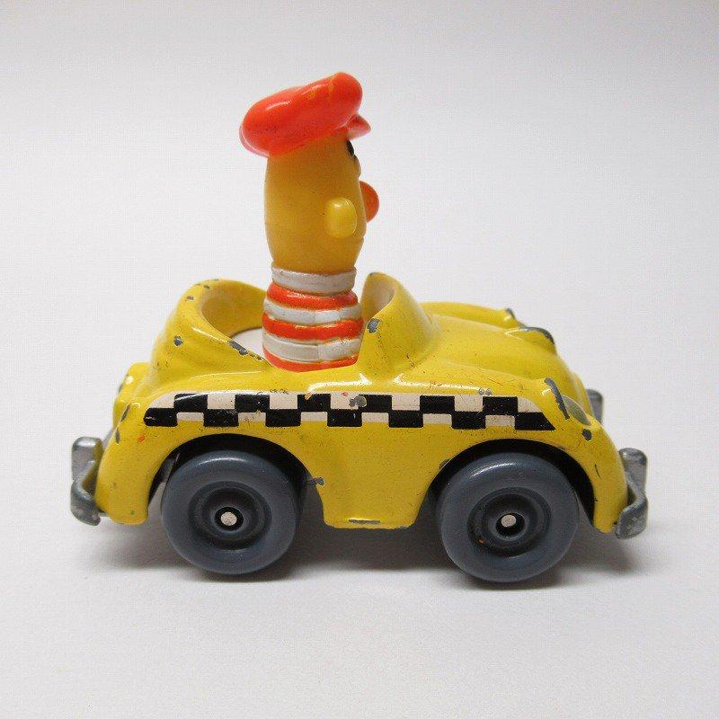 セサミストリート ダイキャスト バート タクシー ミニカー 1980年代【画像4】