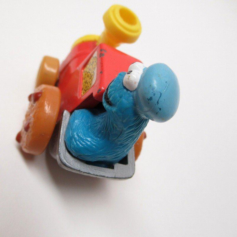 セサミストリート ダイキャスト クッキーモンスター トレイン ミニカー 1980年代【画像6】