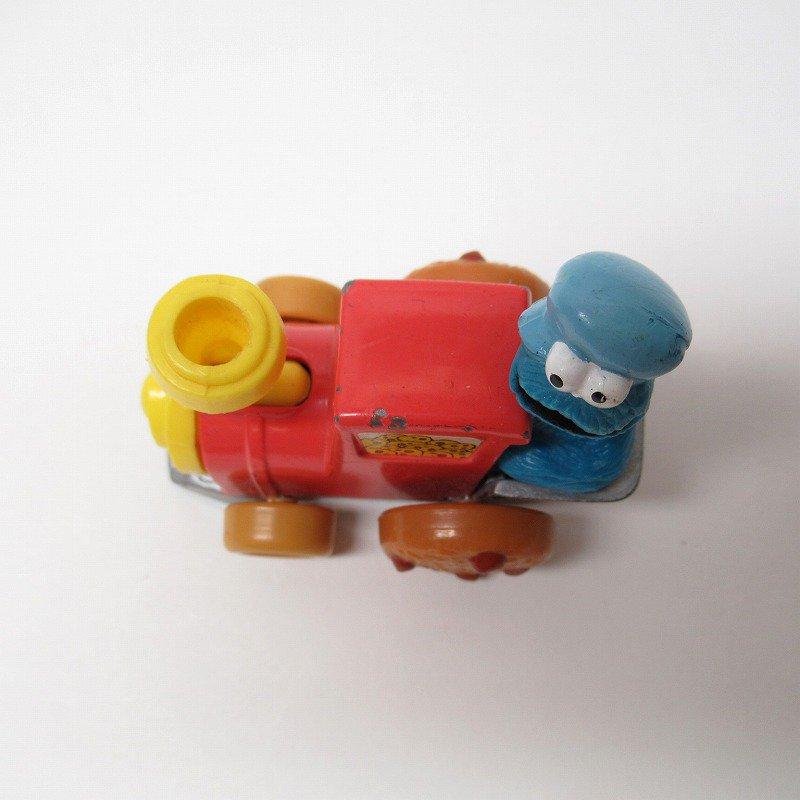 セサミストリート ダイキャスト クッキーモンスター トレイン ミニカー 1980年代【画像8】