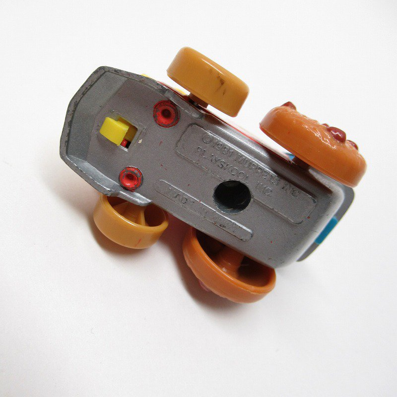 セサミストリート ダイキャスト クッキーモンスター トレイン ミニカー 1980年代【画像9】