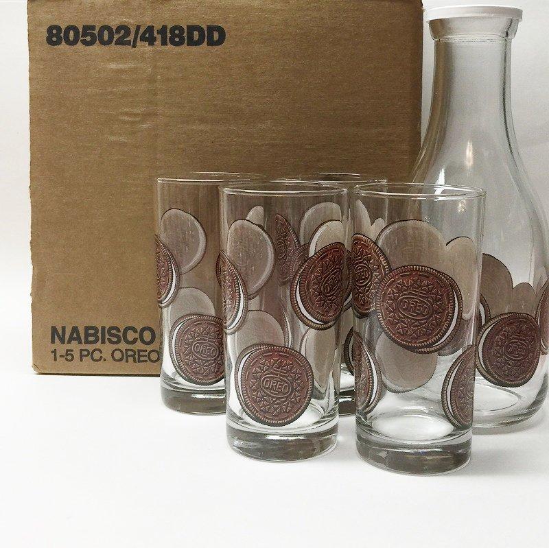 オレオ OREOトール グラス 1980年代 デッドストック