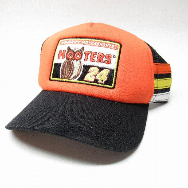 HOOTERS フーターズ & NASCAR 正規品 コラボ キャップ タグ付きデッドストック