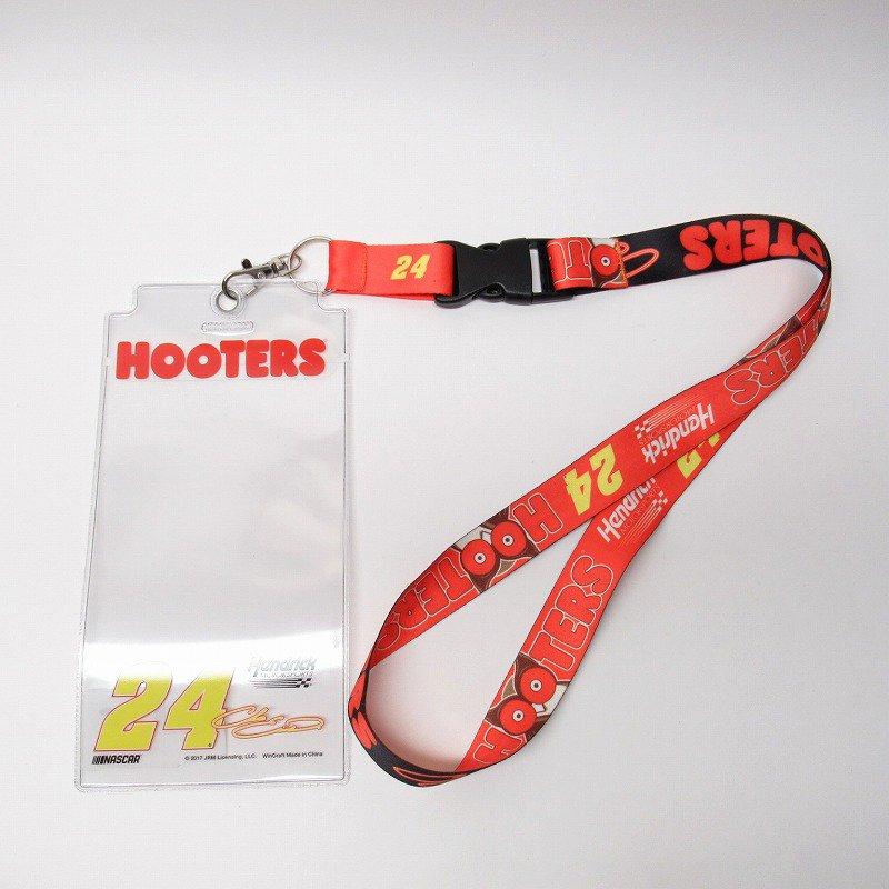 HOOTERS フーターズ & NASCAR 正規品 コラボ カード入れ付レイヤード タグ付きデッドストック【画像2】