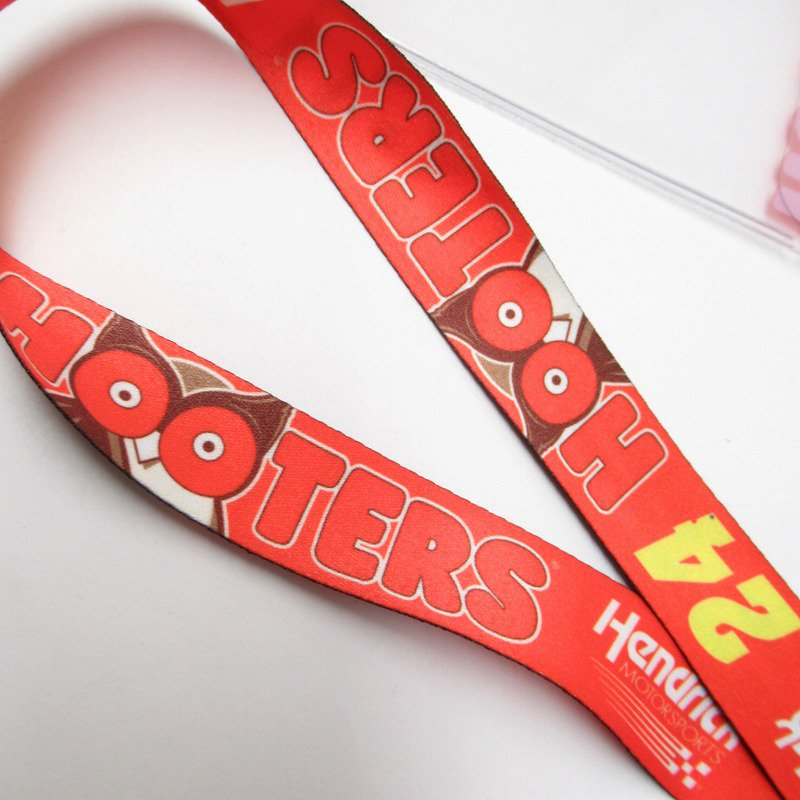 HOOTERS フーターズ & NASCAR 正規品 コラボ カード入れ付レイヤード タグ付きデッドストック【画像4】