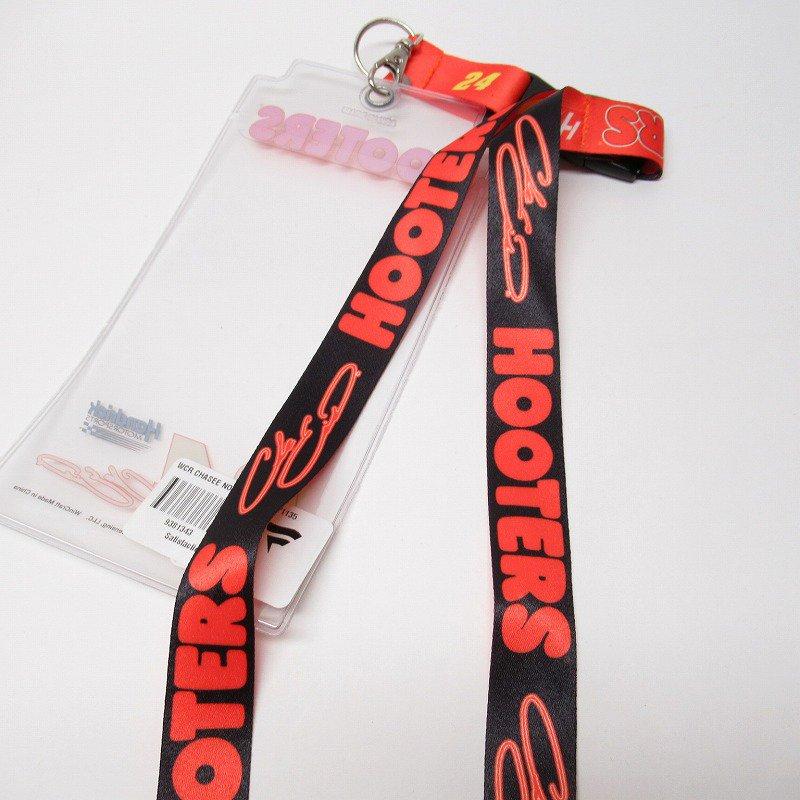 HOOTERS フーターズ & NASCAR 正規品 コラボ カード入れ付レイヤード タグ付きデッドストック【画像5】