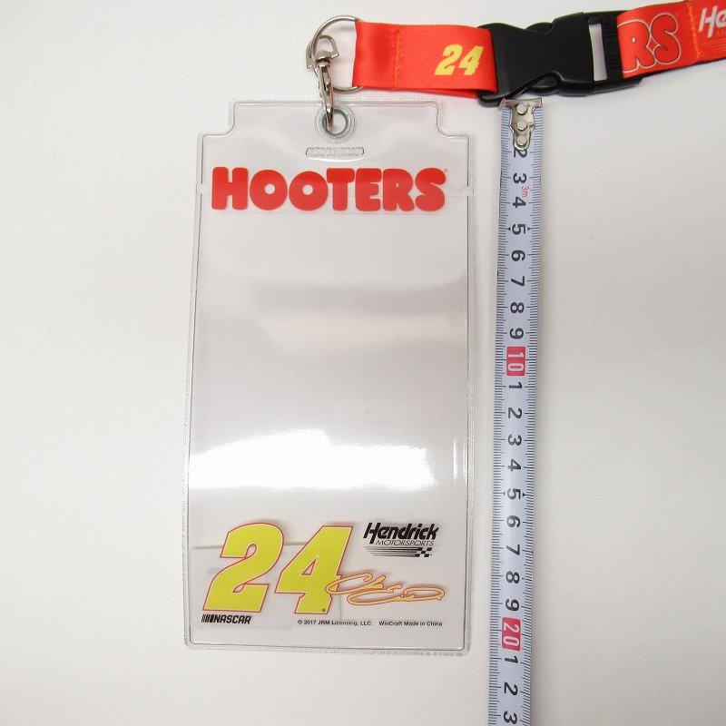 HOOTERS フーターズ & NASCAR 正規品 コラボ カード入れ付レイヤード タグ付きデッドストック【画像7】