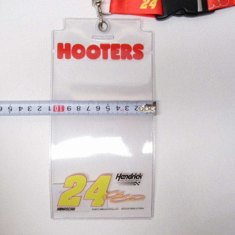 HOOTERS フーターズ & NASCAR 正規品 コラボ カード入れ付レイヤード タグ付きデッドストック【画像8】