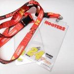 HOOTERS フーターズ & NASCAR 正規品 コラボ カード入れ付レイヤード タグ付きデッドストック