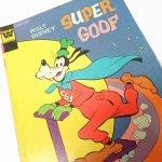 ディズニー  ミッキーと仲間たち スーパーグーフィー 1970年代コミックブック